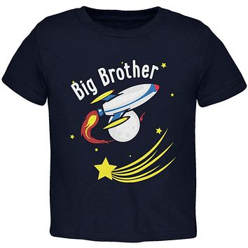 Big Brother Outer Space Rocket Toddler T Shirt
