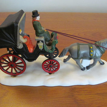 Dept 56 Heritage Village Collection Central Park Carriage #5979-0