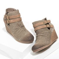 Sabrine Wedges Booties