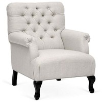 Joussard Club Chair, Moon Gray
