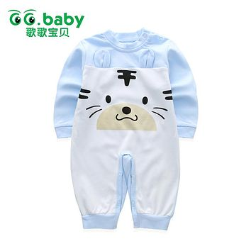 Winter Newborn Bear Romper For Baby Spring Long Sleeve Pajamas Jumpsuit Clothes Unisex Baby Boy Girls Rompers Infant Overalls