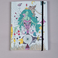 Dream Journal, dreams, blue - pulp-shop.com - paper goods