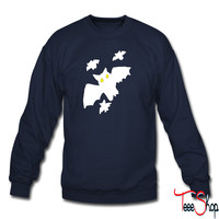 Bat - Bats - Hallowe sweatshirt
