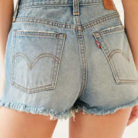 Levis Frayed Wedgie Short - Urban Outfitters