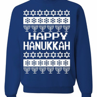 ugly hanukkah sweater Unisex (Runs Big)