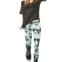 Brandy ♥ Melville |  Kelis Tie-Dye Leggings - Clothing