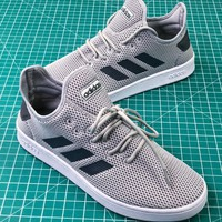 Adidas Cloudfoam Shadow Grey Sport Running Shoes - Best Online Sale