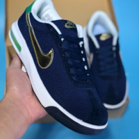 DCCK2 N384 Nike Air Max Mesh Casual Skate Shoes Dark Blue Gold