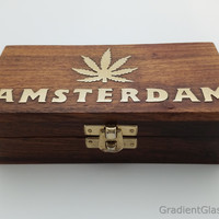 Designer Wood Stash Box