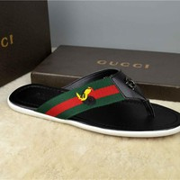 Gucci Casual Fashion Men Sandal Slipper Shoes Size 40-46