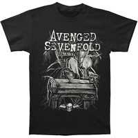 Avenged Sevenfold Men's  Alchemist Slim Fit T-shirt Black