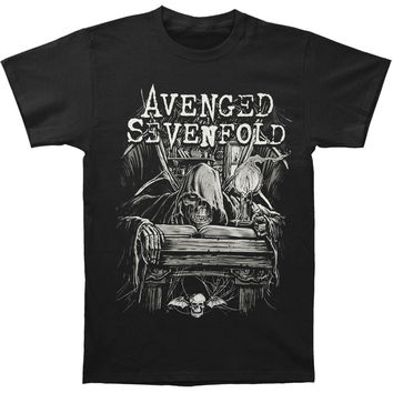 Avenged Sevenfold Men's  Alchemist Slim Fit T-shirt Black Rockabilia
