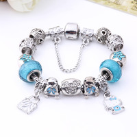 Hello Kitty Charm Bracelet Bear Beads