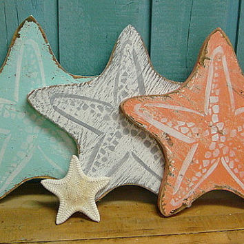 Starfish Sign Beach House Decor