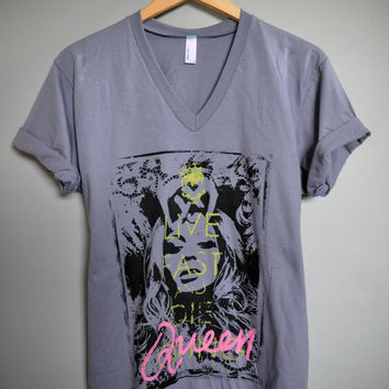 Beyoncé - Live Fast And Die Queen T-Shirt (XS-XL)
