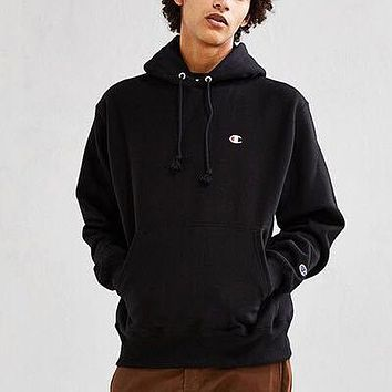 Champion Fashion Casual Loose Hooded Top Sweater Pullover
