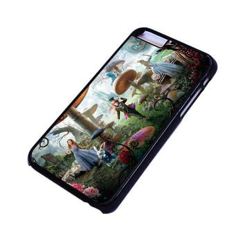 ALICE IN WONDERLAND Disney iPhone 4/4S 5/5S 5C 6 6S Plus Case Cover