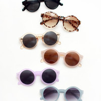 Jelly Rounds Sunglasses