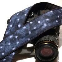 Stars Camera Strap. DSLR Camera Strap. Galaxy Camera Strap. Camera Accessories. Gift Idea.