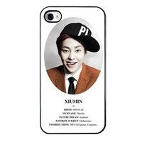 KPOP EXO MEMBER XOXO IPHONE4 CASE (XIUMIN)