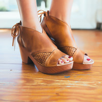 Free People Revolver Clog -Taupe