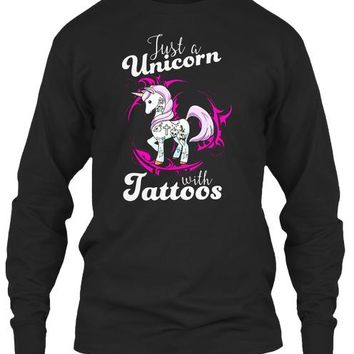 Just A Unicorn With Tattoos
