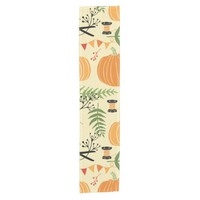 Autumn Patterns Short Table Runner