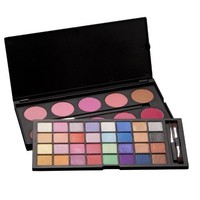 Coastal Scents 42 Color Double Stack Shadow and Blush, Shimmer