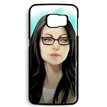 Orang Is New Black Art Painting Alex Vause for Samsung Galaxy S6 EDGE Case