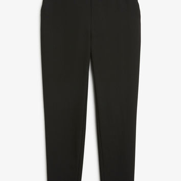 Monki | Trousers | Soft tapered trousers