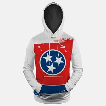 Tennessee State Flag Hoodie (Ships in 2 Weeks)