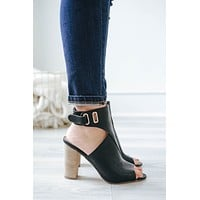 Sweet Reverie Heels - Black
