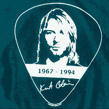 KURT COBAIN - 1967-1994 Dedicated Tee - Lead Musician and Lyricist of NIRVANA - Grunge Band from Seattle / 90's Rock N Roll