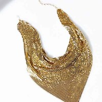 Vintage Gold Scarf Necklace- Assorted One