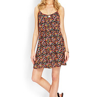 Floral Fields Buttoned Dress