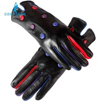 Women leather gloves,Cotton Lined,Genuine Leather,Adult,Dot, gloves women,winter women leather gloves,leather gloves for women