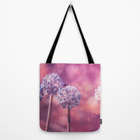 Delicate Morning Tote Bag by Loredana