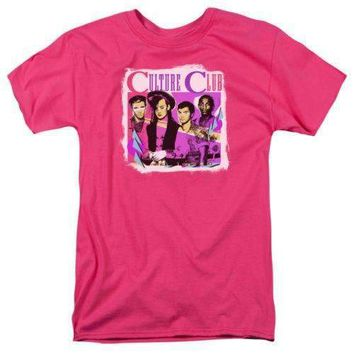 Culture Club Club Mens Hot Pink T-Shirt