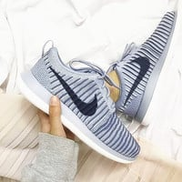 """NIKE"" Trending Fashion Casual Sports Shoes Roshe Grey"
