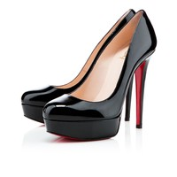 bianca 140mm black patent leather