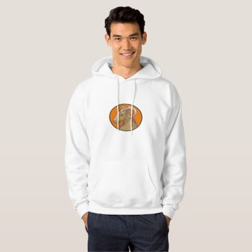 Ram Goat Head Circle Drawing Hoodie