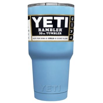 Promotional YETI 30 oz Pastel Blue Custom Tumbler