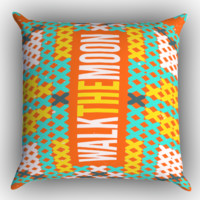 walk the moon LOGO X0388 Zippered Pillows  Covers 16x16, 18x18, 20x20 Inches
