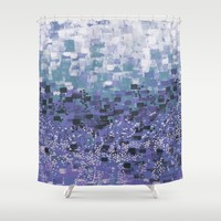 :: Purple Cow Compote :: Shower Curtain by :: GaleStorm Artworks ::