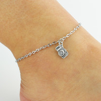 Shiny New Arrival Ladies Gift Jewelry Cute Sexy Accessory Simple Design Stylish Summer Camera Vintage Anklet [6464821441]