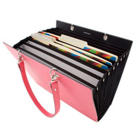 Bella Leather Expandable Tote