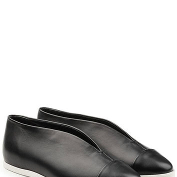 Leather Flats - Victoria Beckham | WOMEN | US STYLEBOP.COM