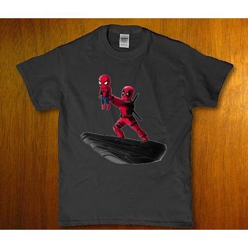 Deadpool lion king simba parody adult Men's funny t-shirt