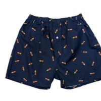 40s Boxer shorts in Navy