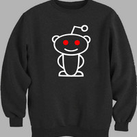 Reddit Alien White Sweater for Mens Sweater and Womens Sweater ***